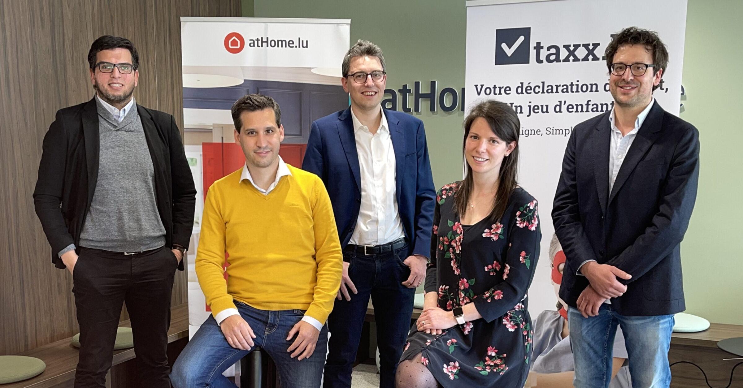 atHome Group devient actionnaire majoritaire de Taxx.lu